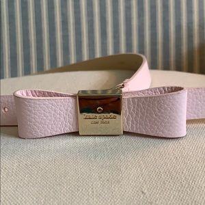Kay Spade thin Bow Belt